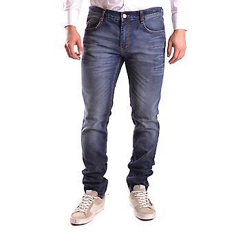 Frankie Morello Ezbc167063 Men's Blue Denim Jeans