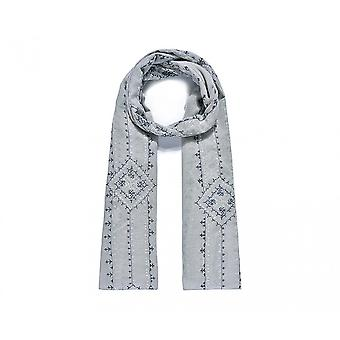 Intrigue Womens/Ladies Intricately Embroidered Scarf