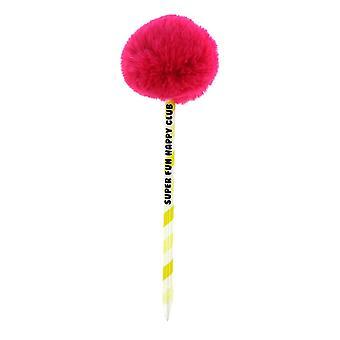 Studio Note Girl Gang Pom Pom Ball pen