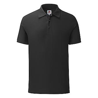 Fruit Of The Loom Mens 65/35 Polycotton Tailored Fit Polo