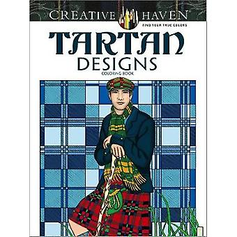 Creative Haven Tartan Designs Coloring Book by Marty Noble - 97804867