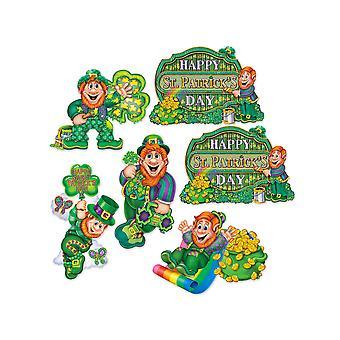 St Patrick's Day Cutouts