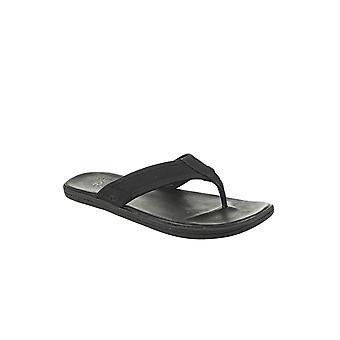 UGG Seaside Flip 1102690BLK universaali kesä miesten kengät