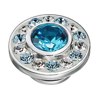 KAMELEON Aqua Burst Sterling Silver JewelPop KJP330