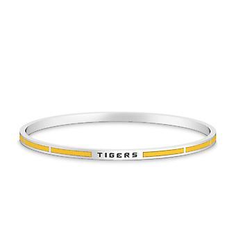 LSU Bracelet In Sterling Silver Design by BIXLER