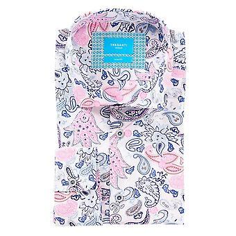 Tresanti Multicoloured Paisley Design Mens Shirt