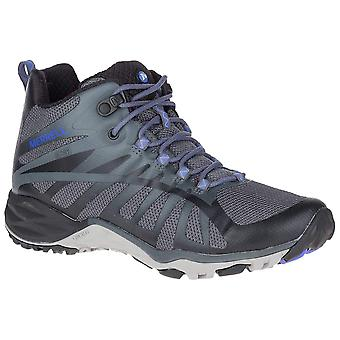 Merrell Black Womens Siren Edge Q2 Mid WP Walking Boot