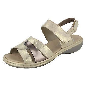 Senhoras Rieker sandálias slingback 659L5