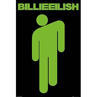 Billie Eilish Stickman Maxi Poster