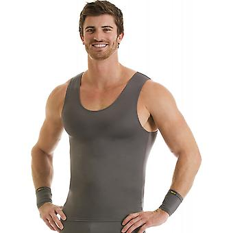 Insta Slim Pro Active Wear Muscle Tank Compression Under Shirt - Forza Gray