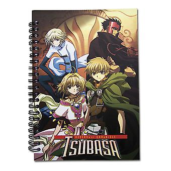 Notebook - Tsubasa - New Group Gathering Stationery Anime Licensed ge6416