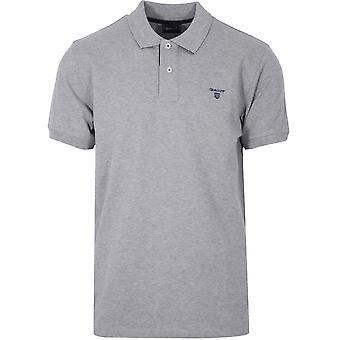 GANT Grey Polo Shirt