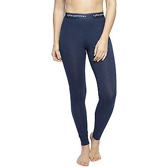 Cyberjammies 4297 Women's Harper Navy Blue Cotton Ankle Length Leggings