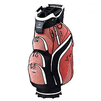 Volvik Jeans Trolley Cart Golf Bag Red/Black/White