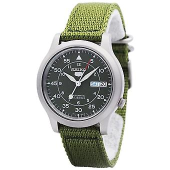 Seiko 5 Militaire Automatique Nylon Snk805k2 Men-apos;s Montre