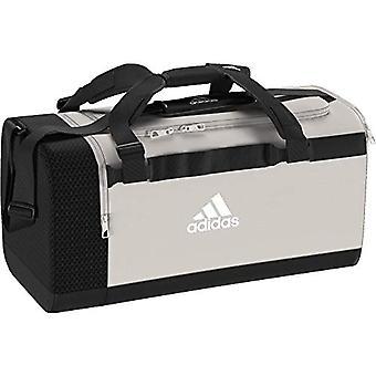 adidas TR CVRT DUF M - Unisex-Adult Sports Bag - White (Raw Black/White) - 55 CentimeterS
