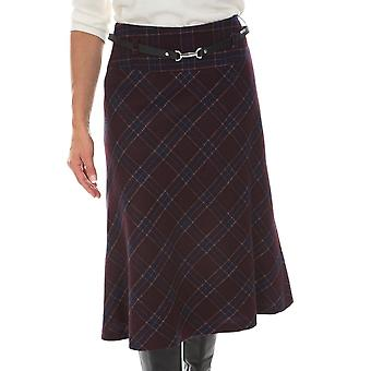 Gardeur Skirt Rabeaf 620440 Brown Or Plum
