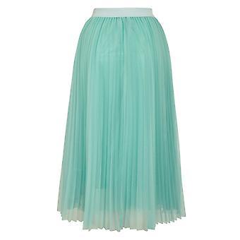 Louche Bettula Net Midi Skirt Mint