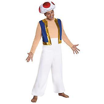 Toad Deluxe kostuum voor volwassenen