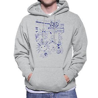 Zits Biro Doodle kollektion mænd ' s hættetrøje