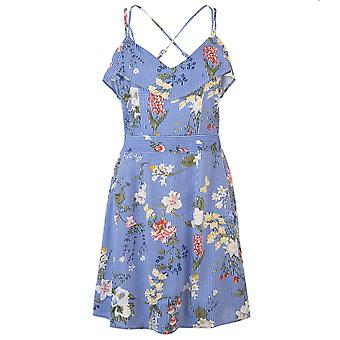 Rock and Rags Womens Ladies Print Strp Frl Dress