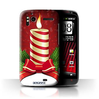 STUFF4 Case/Cover for HTC Sensation XE/Candle/Advent/Christmas Decorations