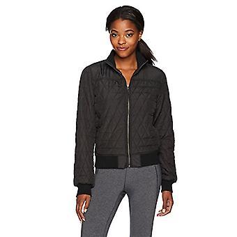 prAna vrouwen ' s Diva Bomber jas, zwart, x-large, zwart, grootte x-large