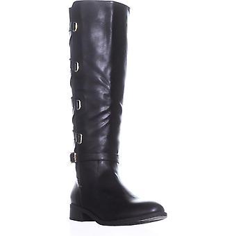 Thalia Sodi Mulheres Veronika fechado dedo do pé sobre botas de moda joelho