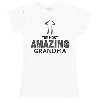 The Most Amazing Grandma - Womens T- Shirt