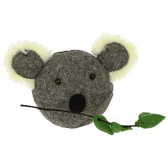 Fiona Walker England Koala Head Mini Felt Animal Head, Wall Mounted