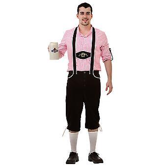 Bavarian Bundhosen Halloween Costume, Large