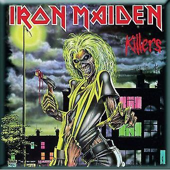 Iron Maiden Fridge Magnet Killers new Official 76mm x 76mm