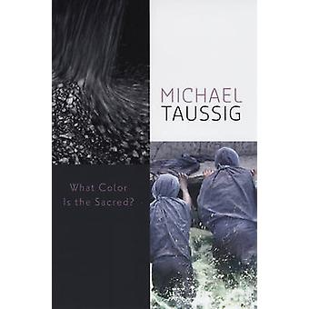 What Color is the Sacred by Michael Taussig