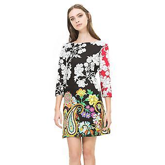 Desigual Women's 3/4 Sleeved Celsius Dress