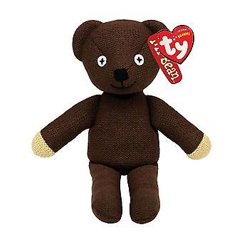 """Mr. Bean 8"""" Teddy Bear Beanie"""
