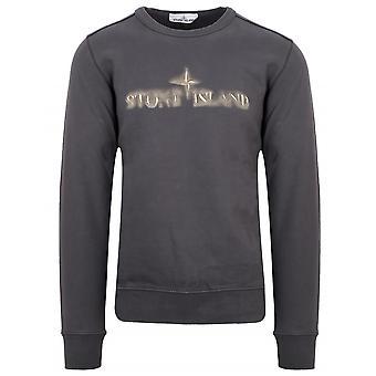 Stone Island Stone Island Dark Grey Crew Neck Sweatshirt