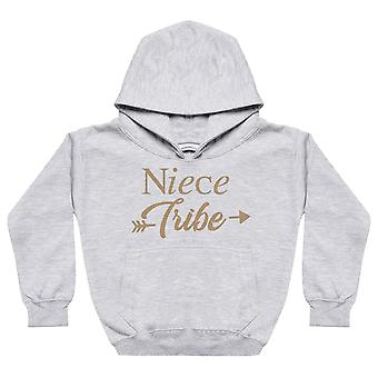 Uncle, Niece And Nephew Tribe - Matching Set - Baby / Kids Hoodie & Dad Hoodie