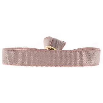 Les austauschbare A46600 Armband - 9mm Beige rosa Damen Band
