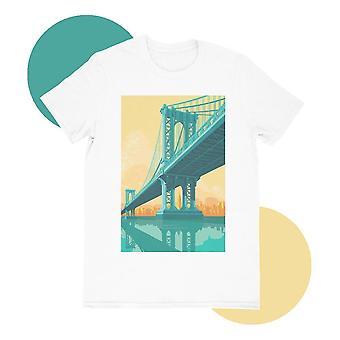 Manhattan bridge t-paita