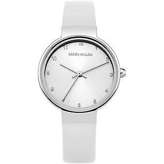 Karen Millen KM131W - watch White Leather woman