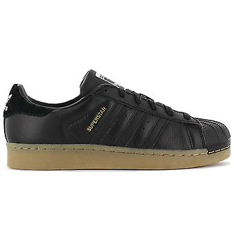 adidas Originals Superstar W B37148 Scarpe da donna Nero Sneakers Scarpe sportive