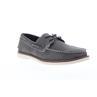 Unlisted by Kenneth Cole Santon Boat  Mens Gray Boat Shoes Loafers