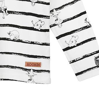 Mumin Linjer tröja svart/vit, Martinex