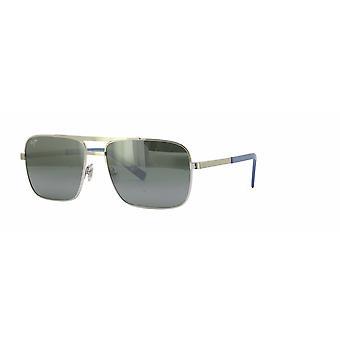 Maui Jim Compass 714 17 Silver/Neutral Grey Sunglasses