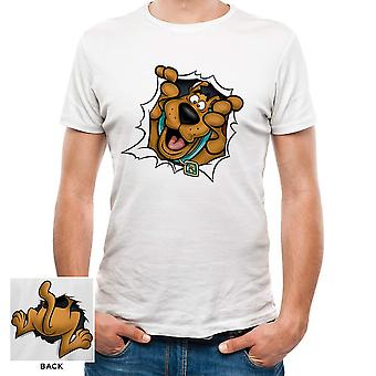 Scooby Doo Adults Unisex Adults Rip Through T-Shirt