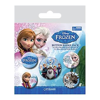 Frozen, 5x Pins
