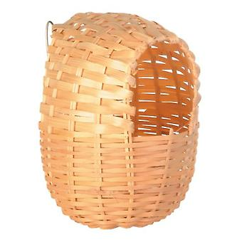 Trixie Nido Bambú, 11*12cm (Birds , Bird Cage Accessories , Nests and Complements)