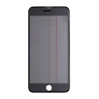 4 In 1 Black Top Glass & Frame For iPhone 6 Plus   iParts4u