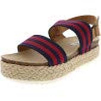 Steve Madden Frauen's Arielle Knöchel-hohe Leder Sandale