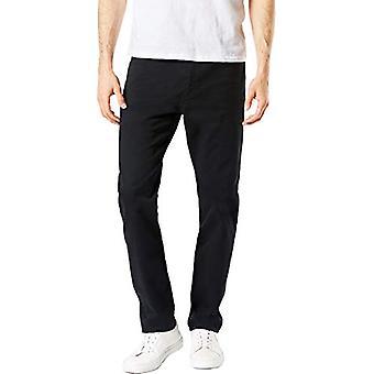Dockers Men's Slim Fit Jean Cut All Seasons Tech Pants, Black, 29 30
